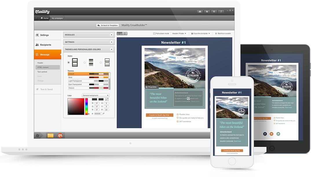 email marketing herramientas newsletter
